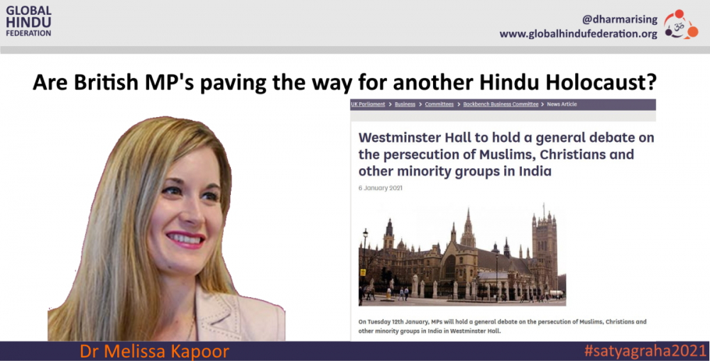 """British MPs Pave the Way for Another Hindu Holocaust"""