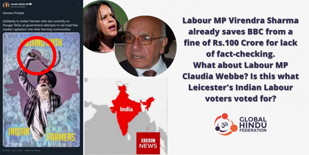 Claudia Webbe's Contempt for Leicesters Hindus